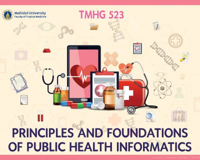 TMHG523 Principles and Foundations of Public Health Informatics