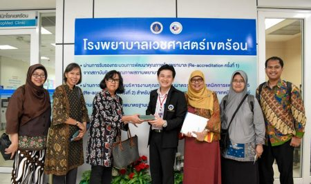 Delegation from Universitas Airlangga, Indonesia paid a visit to Faculty of Tropical Medicine