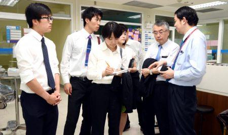 Delegations from Tropical Medicine Association of Juntendo University