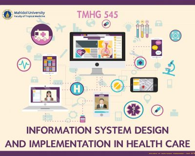 TMHG545 Information System Design and Implementation in Health Care